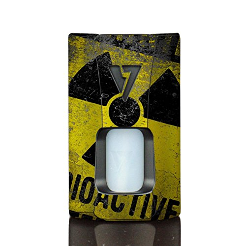Wrap For Desire Design Tech OHM Boy Rage Squonk Skin Skins Radioactive Vinyl Decal Sticker