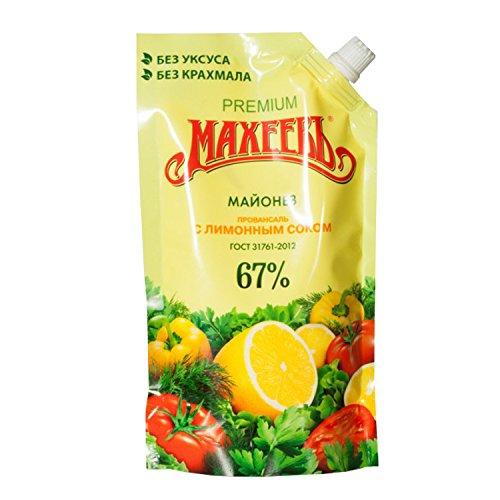 Mayonnaise, leicht mit Zitronensaft