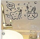 Moderne Coût Coût Prix Brosse Dents Décorations Pour La Maison Mignon Stickers...
