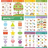 Learn Chinese for Kids Poster Set. Bilingual with...