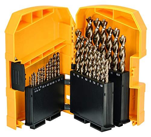 DeWalt DT4957-QZ (Metallbohrer Set EXTREME HSS Co 29-tlg. Ø 1 - 13 mm, in Kunststoff Case)