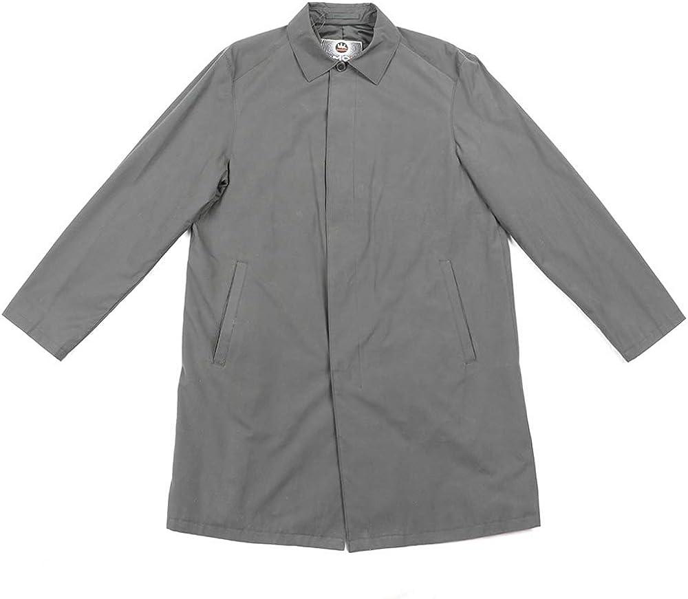 SMONTY Men's Single Breasted Trench Coat