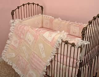 Cotton Tale Designs Heaven Sent Girl 4 Piece Crib Bedding Set