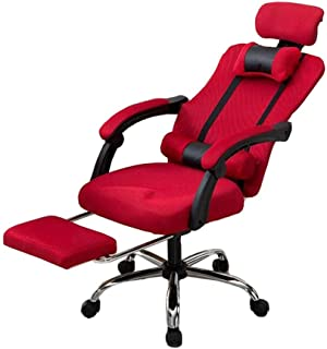 Chair - chairs Swivel Office Chair Ergonomic High Back Adjustable Headrest Seat Height Lumbar Support Durable strong (colo...