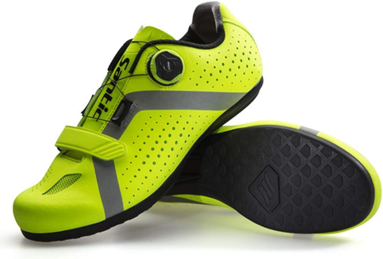 Hi9 Men Cycling Unlocked shoes Reflective Road MTB Bike Bicycle shoes Breathable