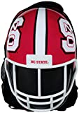 NCAA North Carolina State Wolfpack North Carolina State Wolfpack Football Helmet Backpacknorth Carolina State Wolfpack Football Helmet Backpack, Red/ White, One Size