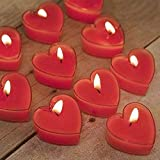 Best Scented Candles - Eccellente Heart Shape Wax Scented Candles,Pack of 24,Red… Review
