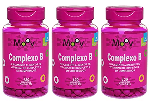 3 Complexo B P/ Energia Beleza Imunidade Memória 360 Comprimidos