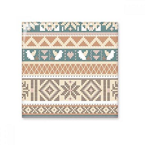 Azulejos de cerámica con forma de corazón, color beige, azul, marrón, octogonal, con patrón de ilustración, para decoración de baño, cocina, azulejos de pared de cerámica