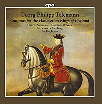 Cantatas for the Hanoverian Kings of England
