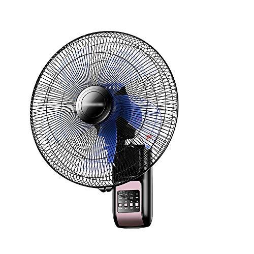 Jiamuxiangsi Elektrische ventilator, wandmontage, om op te hangen aan de muur, met centrifugeren van de kop, nominaal vermogen 60 W, plafondventilatoren
