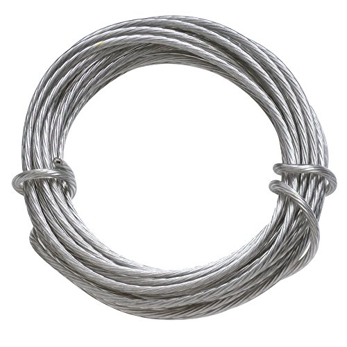 Mejor The Hillman Group 121110 Picture Hanging Wire, 30 lb, Galvanized crítica 2020