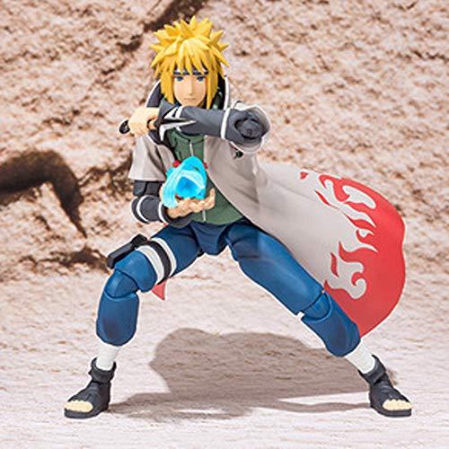 Naruto Statue Dekoration Naruto Namikaze Minato Animierte Figur Modell Statue Action-Figur Movable
