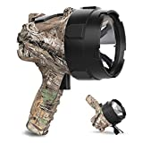 GOODSMANN 750 Lumen LED Rechargeable Spotlight Flashlight Portable Handheld for Work and Outdoor Camping Boating Fishing Hunting Hiking Patrolling and Road Trips(Realtree Xtra)