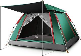 IDWOI-tält tält 3-4 personer popup automatisk omedelbar familj tält tjock regntät lätt kupol utomhus camping tält