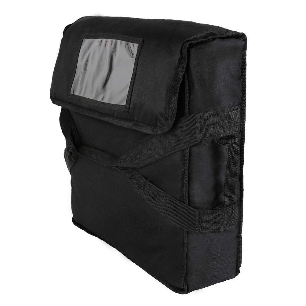 Insulated Our shop most popular Pizza Delivery Bags Black 2 Count 5 popular 20x20x6.29 Size
