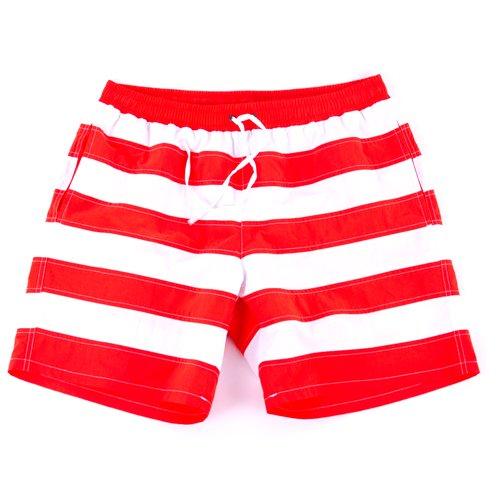 BARCO TEKSTIL Herren Sportswear Swimshort, Orange, M, 341556
