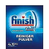 Finish/Calgonit Classic Reiniger-Pulver mit Aktiv-Einweichstoffen, 4,5 kg