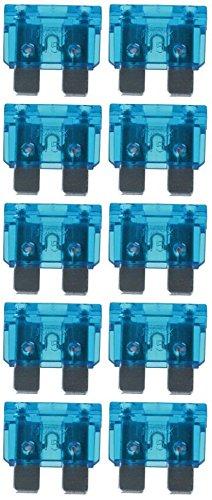 baytronic Standard Flachstecksicherung Kfz-Sicherung (10 Stück 15 A blau)