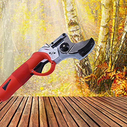 HXC Elektrische snoeischaar, professionele schaartakkensnijder, voor fruitboom, takken, snijgereedschap met lithiumbatterij (36 V, oplaadbare snijdiameter: 30 mm)