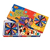 colorful candy box filled with jelly belly beans and a spinner game