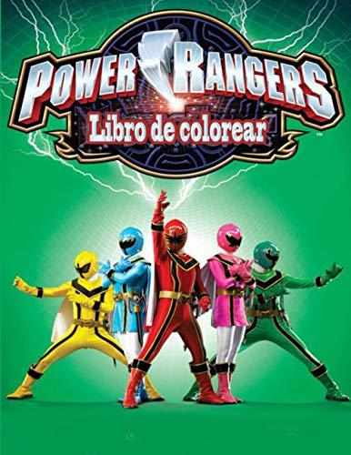 Power Rangers libro de colorear
