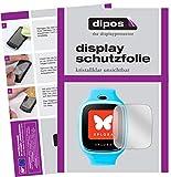 dipos I 6X Schutzfolie klar kompatibel mit XPLORA 3S Folie Bildschirmschutzfolie
