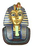 colourliving Figura Decorativa, Estatua, Busto gottheit Egipcio Faraón tute chamum Tut