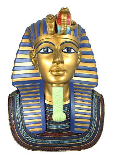 colourliving Dekofigur, Statue, Büste Ägyptische Gottheit Pharao Tutenchamum TUT