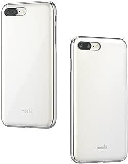 Moshi iGlaze for iPhone 8 Plus / 7 Plus - Hardshell Protective case (Pearl White)