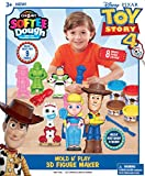 Cra-Z-Art Disney Toy Story 4 Softee Dough 3D Mold N Play Figure Maker