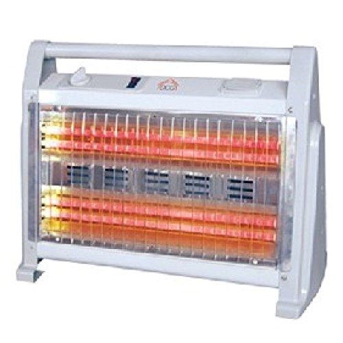 DCG Eltronic SA9524 stufetta elettrica Stufetta al quarzo Bianco 1600 W