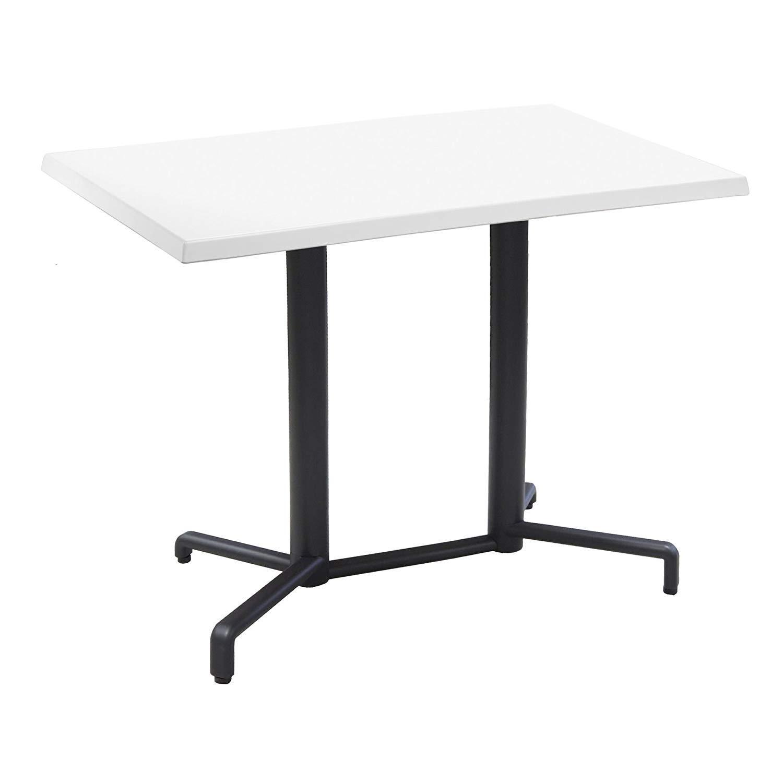 Grosfillex Vega Table Taupe 118 X 77 X 72 Cm Amazon Fr Jardin