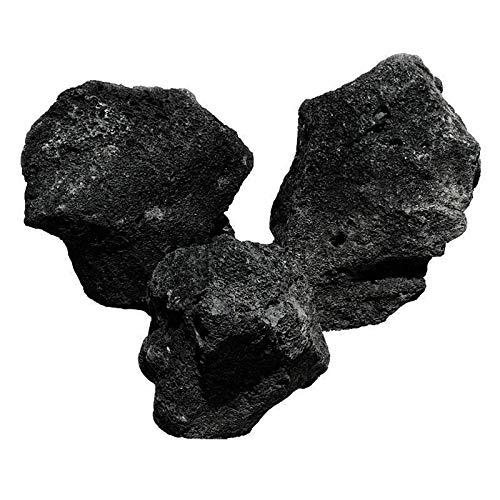 OrinocoDeco Lava Stein, schwarz 4 kg