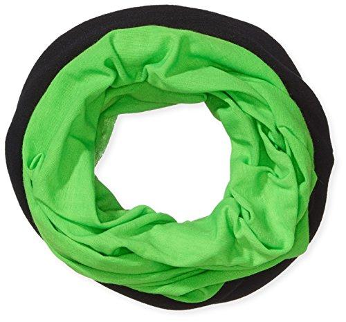 HAD® Fleece Echarpe Multifonctionnel avec Laine Polaire Neon Green/Black