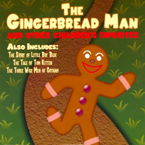 The Gingerbread Man and Other Children's Favorites audiobook cover art