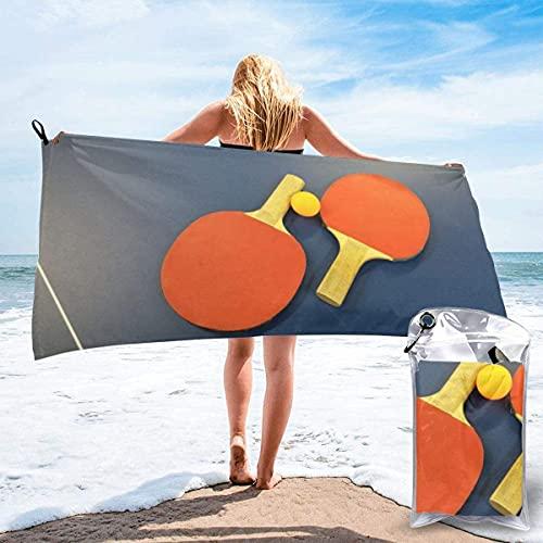 Pastillas de Tenis de Mesa Pastillas de Tenis de Mesa Toalla de Playa Ultra Suave 27.5