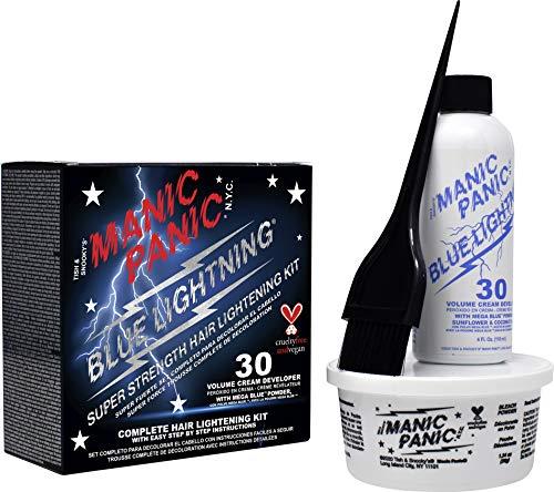 Manic Panic Blue Lightning Bleach Kit 30 Vol New