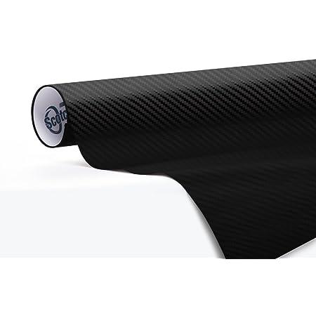 1080 3m Schwarz Glänzende Karbonfaser Aufklebefolie Aus Vinyl Rolle Zu 152 X 30 Cm Auto
