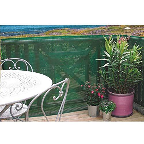 Nortene Brise-Vue Plastique Rigide Vert 80% occultant 1,5 x 5 m CLOSTA