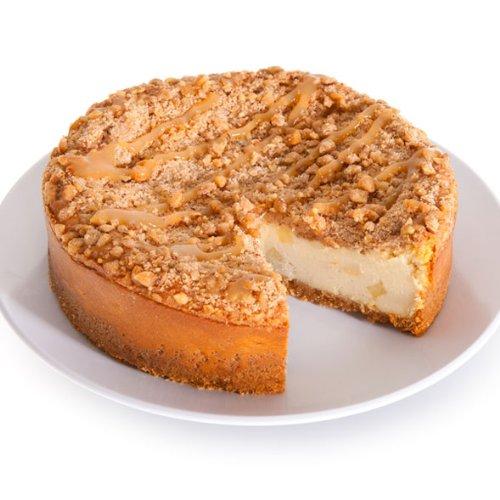 Caramel Apple Crunch Cheesecake - 9 Inch
