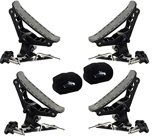 RUK Combi Rack & Tie Downs - Canoe / Kayak Roof Rack Supports