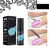 WENDAO Látex líquido peel off Liquid Tape Nail Art Peel Off Base Coat Nail Art Líquido Látex Protección de la piel de los dedos para Nail Art Liquid (A)