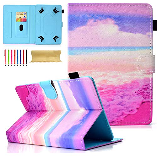 Universal 8.0 inch Tablet Case, Dteck Stand Folio Wallet Kids Case for All 7.0' 7.9' 8.0' inch iPad Mini 1 2 3 4, Galaxy Tab A/Tab E/Tab S2 8.0, Fire HD 8.0, HP, LG, ASUS, Acer, Lenovo