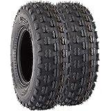 VANACC 22x8-10 22x8x10 ATV UTV Tires 4 PR Set of 2 Tubeless