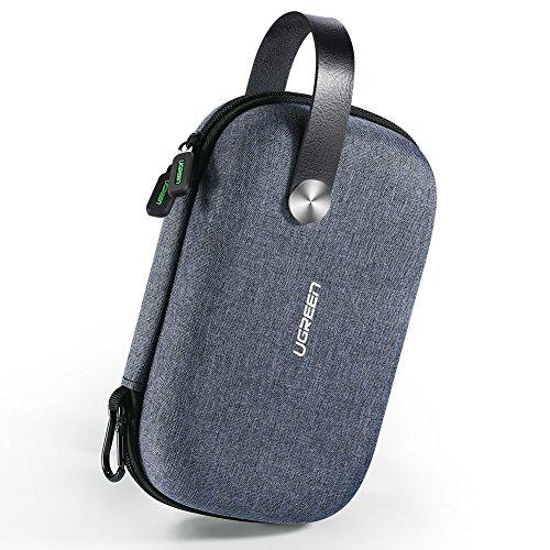 UGREEN Case Elektronische Tasche Elektronik Organizer Kabeltasche Etui Reise Organisation Powerbank Tasche untrestützt für Festplatten, Mobil Zubehör, Kabel,USB Stick, SD Karten Lautsprecher GPS usw.