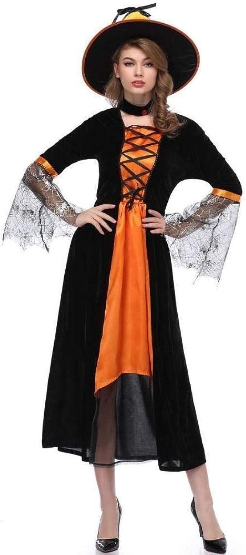 Xiao-masken Erwachsene Halloween Hexe Kostüm Cosplay Uniform Für Frauen Sexy Dmon Vampir Hexe Rock Kleid Hut Karneval Party Weiblichen Anzug