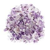 Hellery 100g Piezas De Piedra De Cristal Gemas Caídas Acuario Florero Adornos Bricolaje - Púrpura 5-12mm