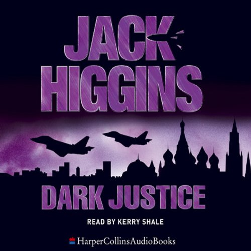 Dark Justice audiobook cover art