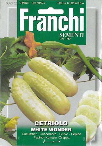 Franchi Cetriolo White Wonder